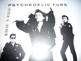 Psykedelic furs - Midnight to midnight, NL-press, NM/NM