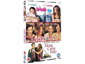 Friends With Money/The Break-Up/Along Came Polly- DVD - 3 Disc Jennifer Aniston