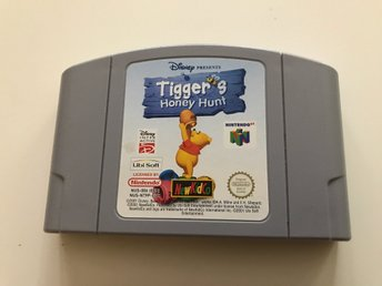 Nintendo 64- Tigers honungs jakt