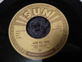 Carl Perkins Sun records 7 ROCKABILLY
