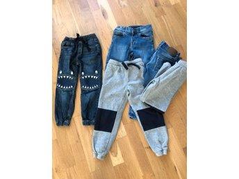 fettfläck på jeans