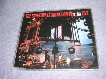 a-ha Sun Always Shine.. Live (CD-maxi) 4 trk Mint!!