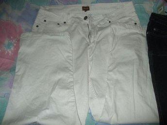 Jeans, vita jeans i storleken D21. - Asarum - Jeans, vita jeans i storleken D21. - Asarum