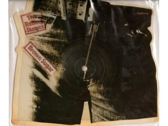 "ROLLING STONES ""BROWN SUGAR - SHAPED DISC"""