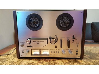 Vintage Akai GX-4000D Reel to Reel Tape Player Recorder 4 Track 2 Channel deck
