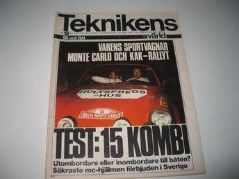 Teknikens Värld 1970-5 Monte Carlo 1970..MB 250 Stor Test - Järpås - Teknikens Värld 1970-5 Monte Carlo 1970..MB 250 Stor Test - Järpås