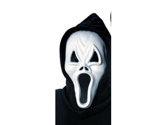 HALLOWEEN Arg Scream mask spöke vampyr monster skelett