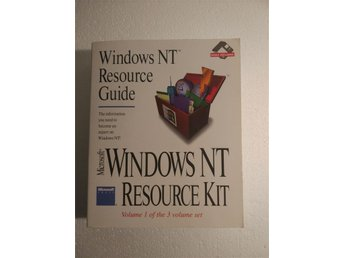Microsoft Windows NT Resource Kit: Windows NT resource guide 1996