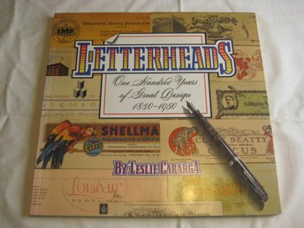 LETTERHEADS-100 YEARS OF GREAT DESIGN 1850-1950 brevpapper