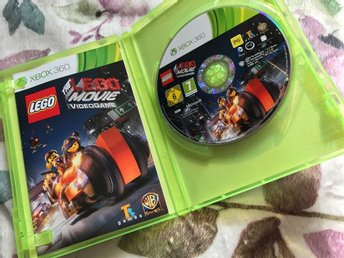 xbox 360 the lego movie - videogame  !!