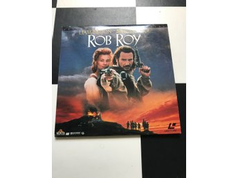 Laserdisc LD , Rob Roy, deluxe letter-box edition
