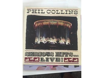Phil Collins - Serious Hits.. Live! - Dubbel-LP