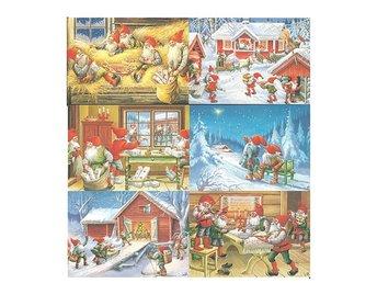 12-Pack Julkort med Lars Carlsson motiv - Torslanda - 12-Pack Julkort med Lars Carlsson motiv - Torslanda