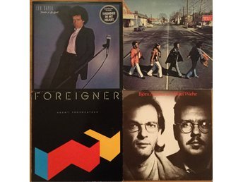 Leo Sayer, Booker T & the MGs, Foreigner, Björn Afzelius, Mikael Wiehe