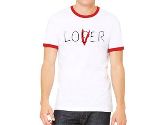 IT - LOSER (UNISEX RINGER) - Extra-Large