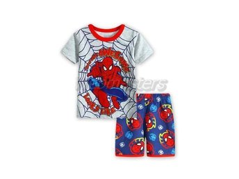 Spiderman Spindelmannen pyjamas strlk ca 100 (4)