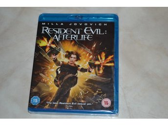 Resident Evil Afterlife (2010) Film Bluray Nyskick