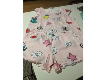 PYJAMAS SET - TOPP & SHORTS - Stl.98/104