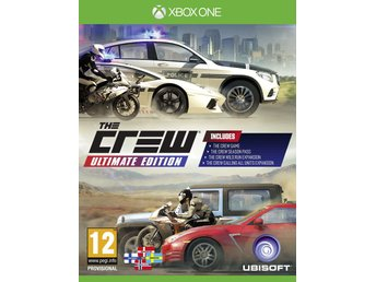 The Crew Ultimate Edition - Helt nytt till Xbox One!!! REA