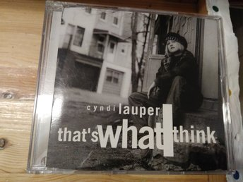 Cyndi Lauper - That's What I Think, CD