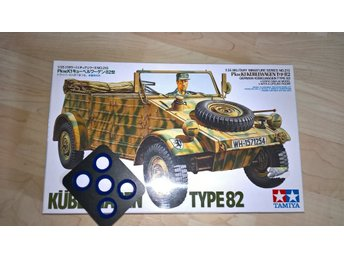 Tamiya, Kübelwagen Type 82 w/ Quick Wheel Mask
