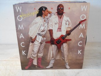 SOUL LP REA !!!!! Womack And Womack - Starlight TOPPEX !!!!!