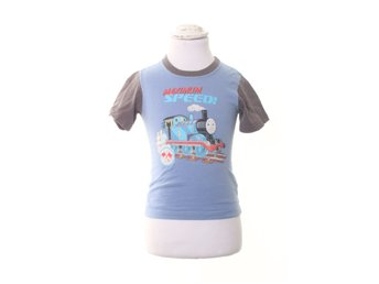 Thomas & friends, T-shirt, Strl: 104, Blå/Flerfärgad