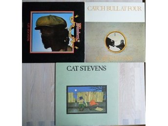 Cat Stevens- paket med 3 lp