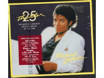 Michael Jackson Thriller CD + DVD Inplastad 25th anniv. edt