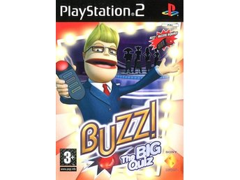 PS2 - Buzz : Big Quiz (Engelsk) (Beg)