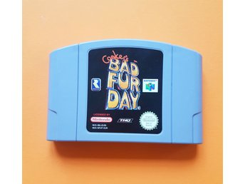 Conker´s Bad Fur Day N64 Nintendo 64