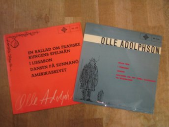 2 st EP: Olle Adolphson