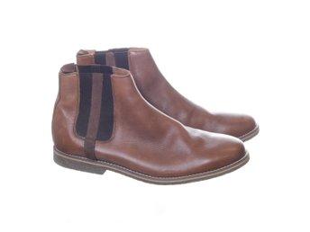 Bianco man, Boots, Strl: 42, Brun, Skinn