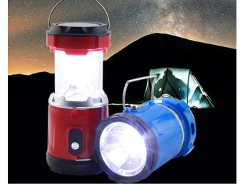 Camping Tent Solar/USB Rechargeable Lantern Emergency adjustable Lampor Hiking