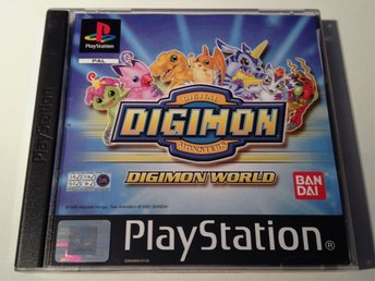 Digimon World - Sony PlayStation 1 / PSOne - PAL