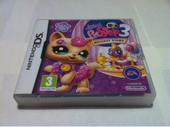NDS: Littlest Pet Shop 3 (III) Purple Team - Svensksåld
