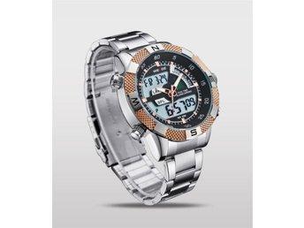 "WEIDE Sporty Business Watch ""Silver/Gold"" (Julklappstips!) - Alingsås - WEIDE Sporty Business Watch ""Silver/Gold"" (Julklappstips!) - Alingsås"