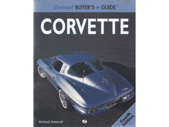 "Bok ""Illustrated Buyer´s Guide Corvette Fourth Edition"" Nyskick"
