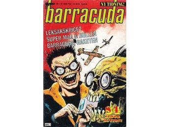 Barracuda nr 1 1990 / VG/FN / bra lässkick - Vallentuna - Barracuda nr 1 1990 / VG/FN / bra lässkick - Vallentuna