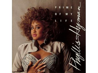 Phyllis Hyman - Prime Of My Life (1991) CD, Zoo/Philadelphia, OOP, Like New