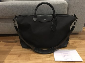 Äkta LONGCHAMP boxford Travel bag XL, kopia av kvitto ingår