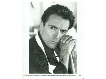 ARMAND ASSANTE AMERICAN ACTOR AUTOGRAF FOTO
