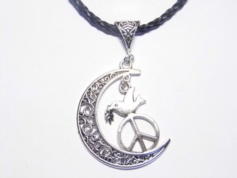 Duva av fred halsband / Dove of peace necklace