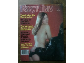 Easyriders May 1981 Entertainment for Adult Bikers  Mycket  Bra Skick!