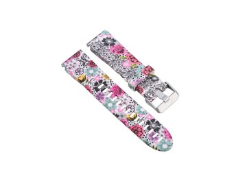 Garmin Fenix 5S silicone watchband strap - Colorful Flowers