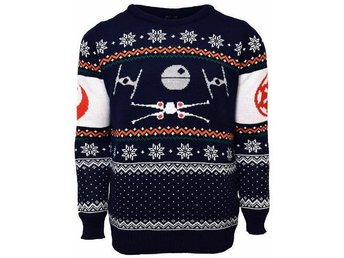Star Wars - X-Wing/Tie F. Christmas jumper (XS)
