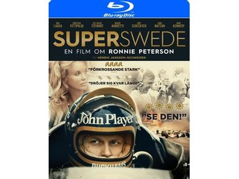 Superswede - Om Ronnie Peterson (Blu-ray)