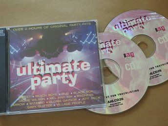 Ultimate Party CD (2CD) 1994:Sweet,Mud,Wizzard,Boney M,Beach Boys,Madness