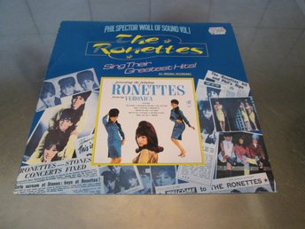 THE RONETTES - SING THEIR GREATEST HITS, PHIL SPECTOR, POP, SOUL