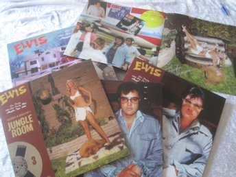Elvis Presley jungle room (signerad av Linda Thompson) super rare